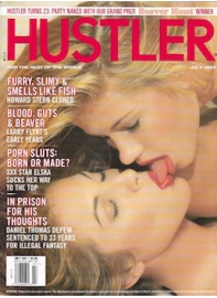 Sarah Healey - Hustler Jul 1997